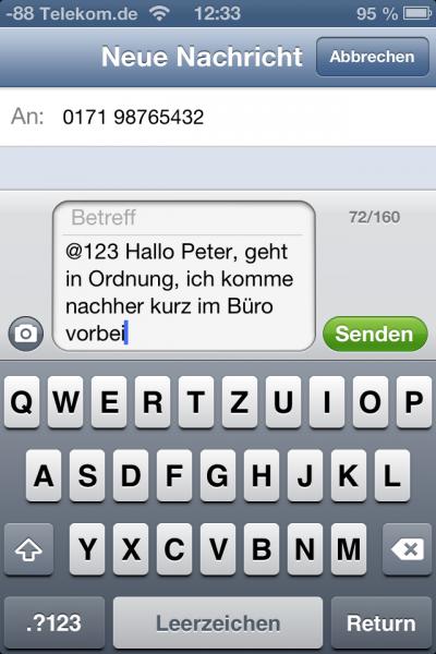 SMS_Antwort